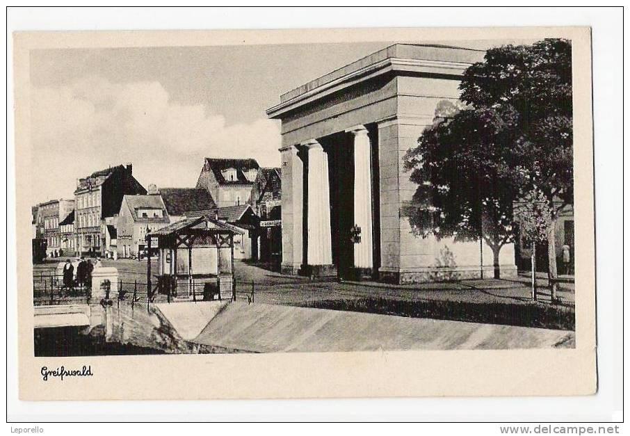 AK GREIFSWALD Ca.1940  // J D*3139 - Greifswald