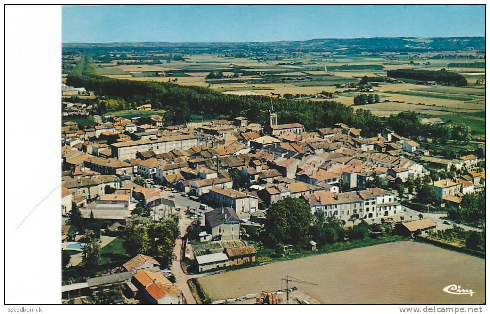 19392 DAMAZAN - Vue Générale Aérienne - Combier 3.99.76.0962 -47.078. - Damazan