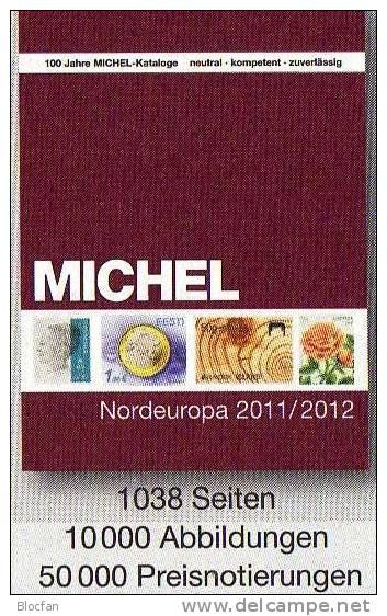 Briefmarken Nord-Europa 2012 Michel Katalog Neu 54€ Band 5 Nordeuropa Stamp Finnland Lettland Litauen Norwegen Schweden - Algemene Kennis