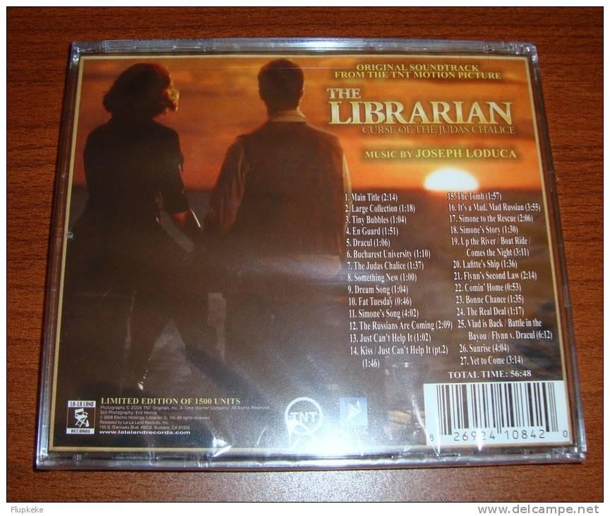 Cd Soundtrack THE LIBRARIAN: CURSE OF THE JUDAS CHALICE Limited Edition La-la Land Records - Filmmusik