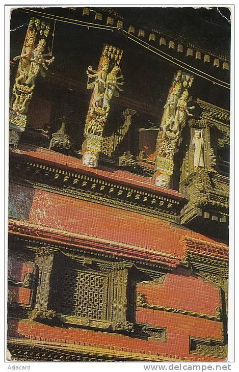Kathmandu Wood Carving No 1  Cottage Industries - Nepal