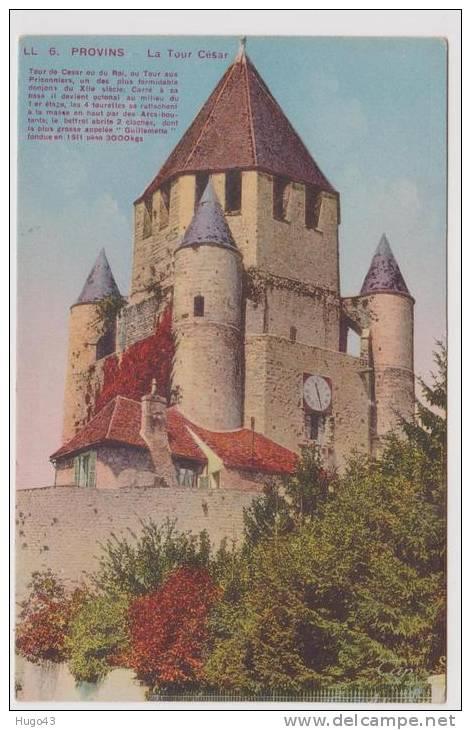PROVINS - LA TOUR CESAR - Provins