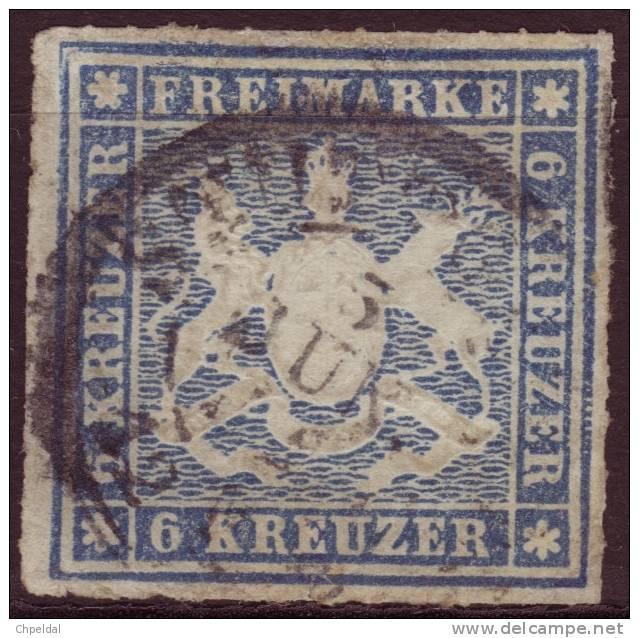 Wurtemberg - Württemberg / Y&T No 32 Mi Nr 32 / 75.00 Euros - Wuerttemberg