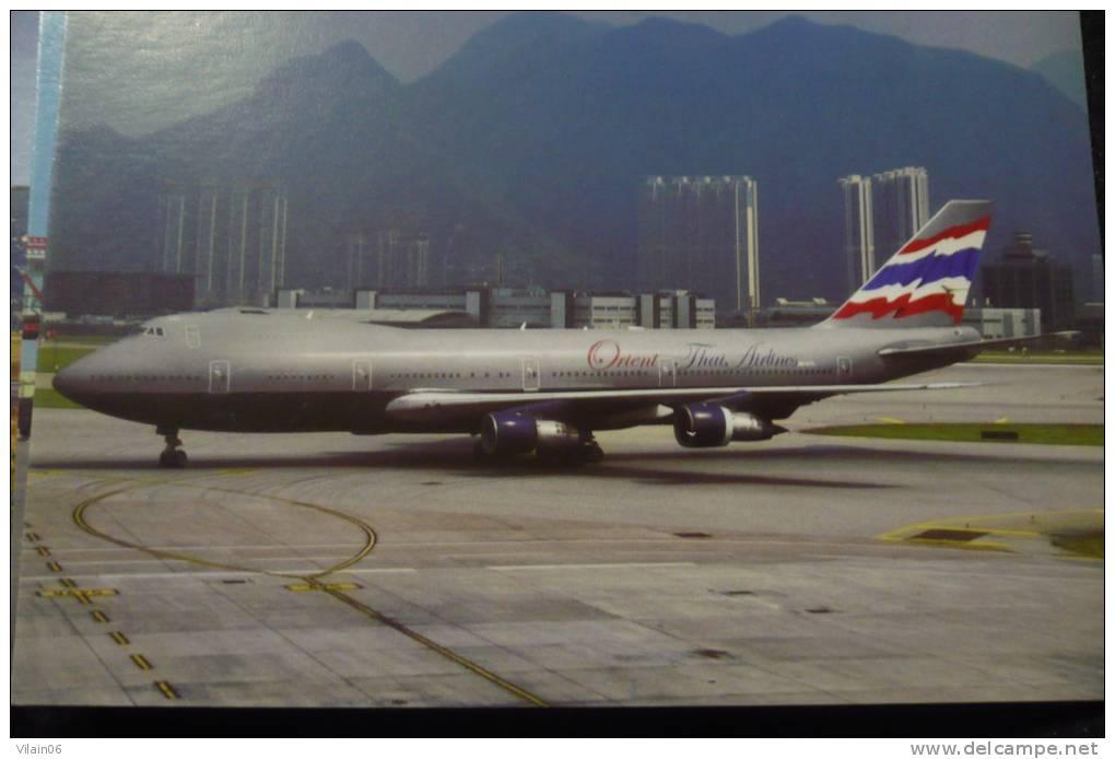 ORIEN THAI  B 747 238   HS UTC - 1946-....: Moderne