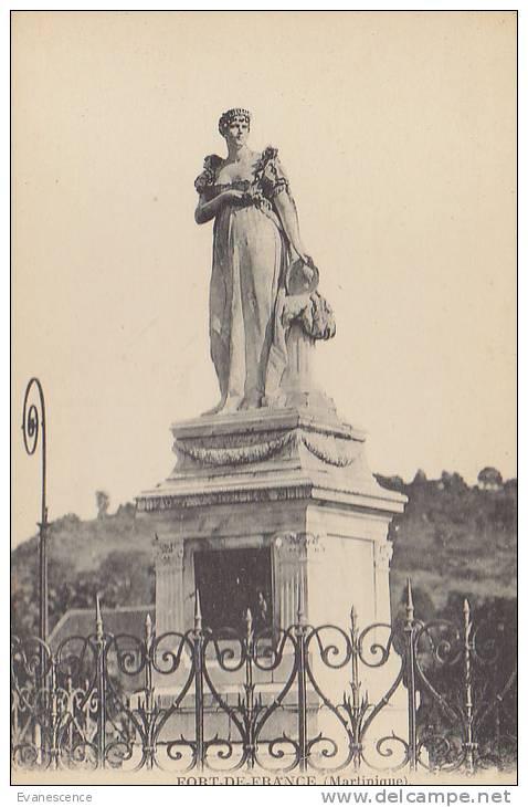 MARTINIQUE /  STATUE DE JOSEPHINE DE BEAUHARNAIS   //////  REF21543 - Fort De France