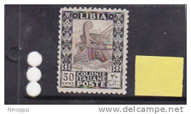 Libya 1926 Pictorial Cent 30 No Wtmk Perf 11 MNH - Libya