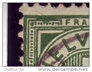 Sept (7) 65 B Avec Variétés / Taches Bien Visibles Sur Chaque Timbre / Sieben Abarten - Used Stamps