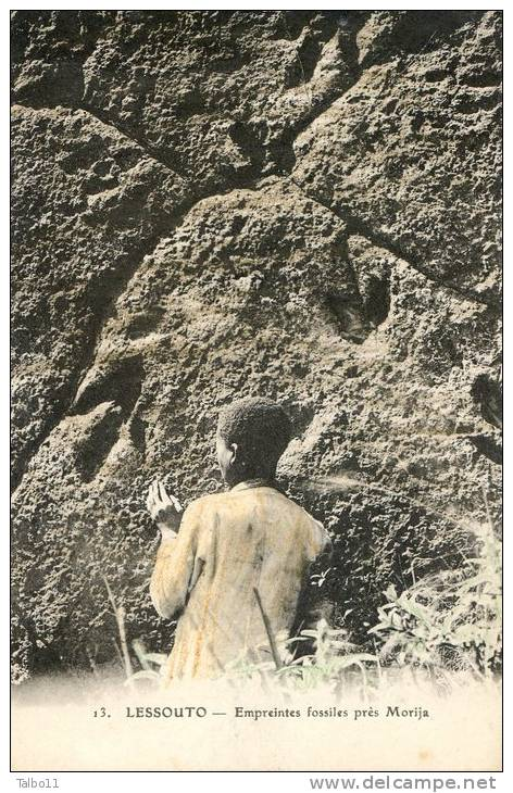 LESSOUTO - Empreintes Fossiles Près MORIJA - Lesotho