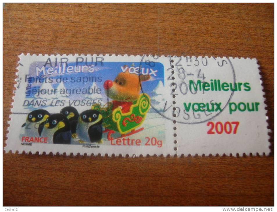 COTE 2012 TIMBRE OBLITERE   ET NETTOYE  YVERT N°3986Aa..2 - France