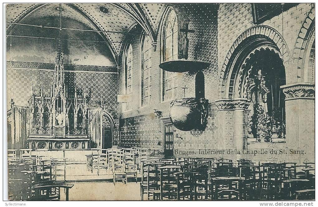 (BELGIQUE) BRUGGE/BRUGES. Intérieur De La Chapelle Du St. Sang - Brugge