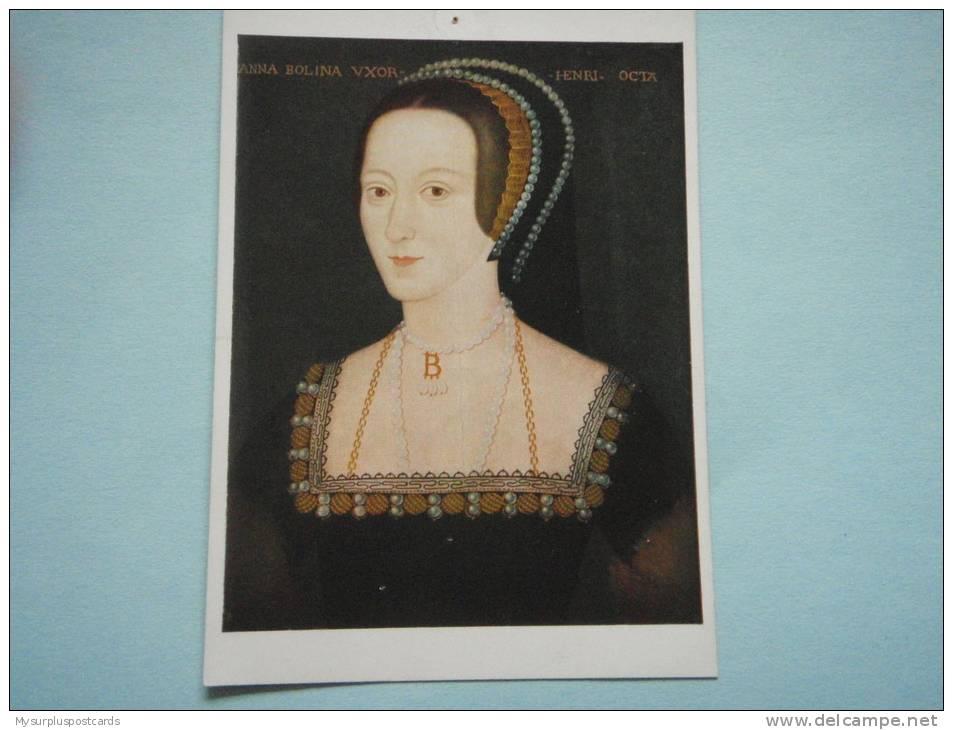 20068 PC: NATIONAL PORTRAIT GALLERY (668): Queen Anne Boleyn (1507-1536) By An Unknown Artist. - Paintings