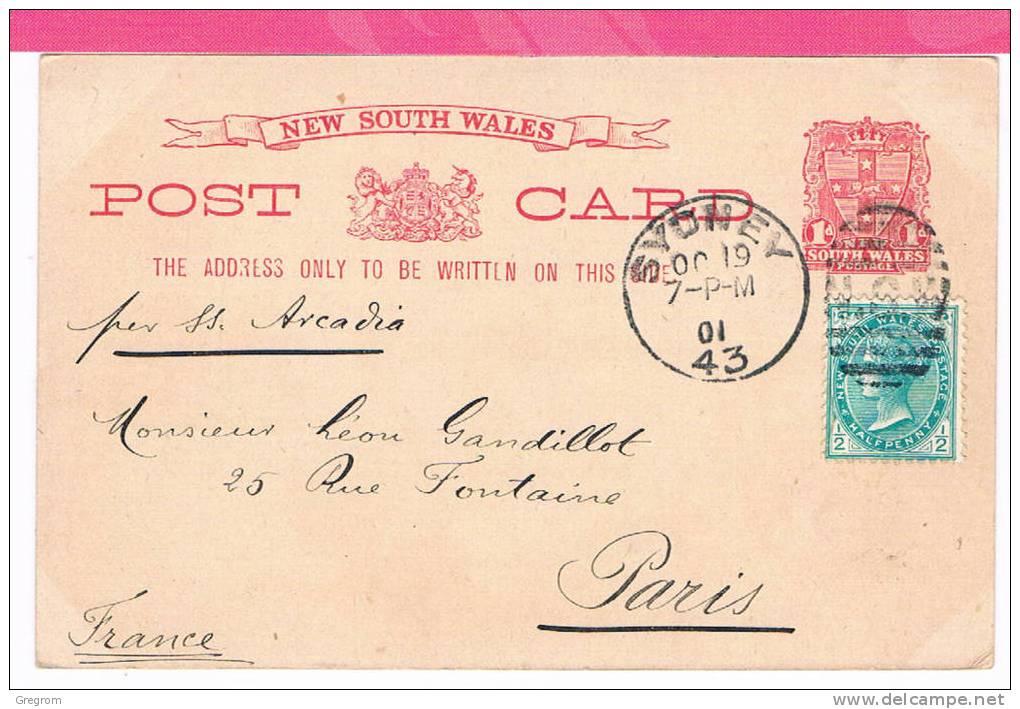 Greetings From  SYDNEY Général Post Office , Entier Postal , 2 Scans , Belle Oblitération - Sydney