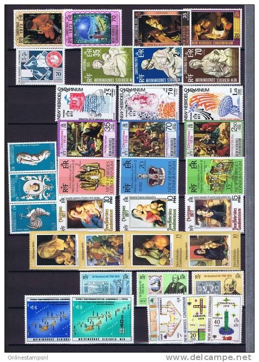 New Hebrides: Set Of MNH / Neuf** Stamps. - Nieuwe-Hebriden