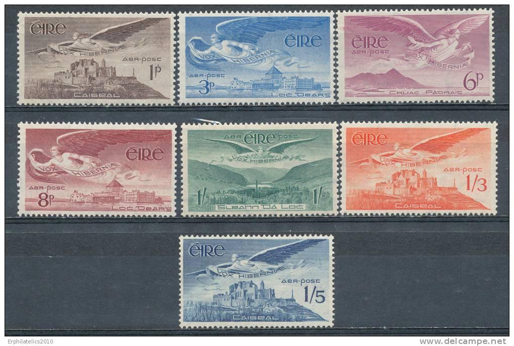 IRELAND 1948/65 AIR MAILS CPL SET SC# C1-7 FRESH VF MNH CV$ 48.00 - Unclassified