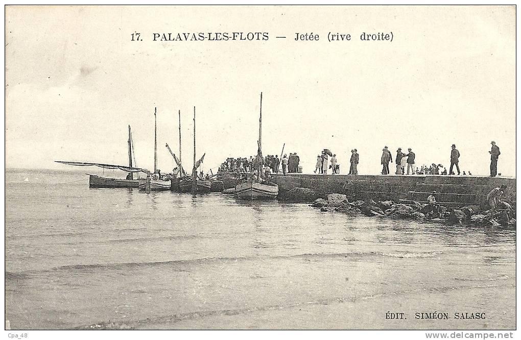 Hérault- Palavas-les-Flots -Jetée (rive Droite). - Palavas Les Flots