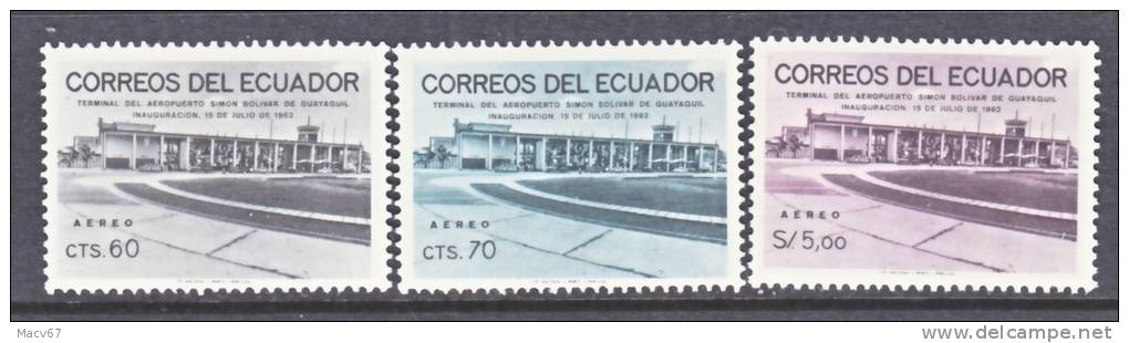Ecuador C 416-8   *  AIRPORT - Equateur