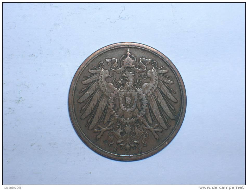 2 Pfennig 1905 J (206) - [ 2] 1871-1918 : Imperio Alemán