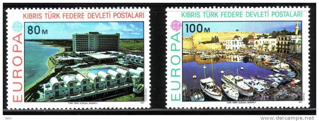 Cept 1977 Cipro Turca ** - 1977