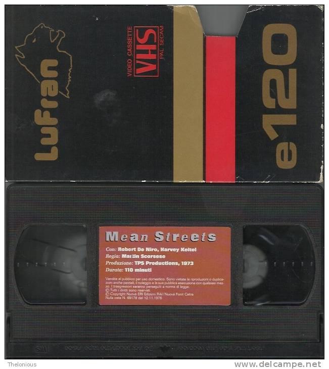 VHS - Mean Streets - Con Robert De Niro E Harvey Keitel Regia Di Martin Scoesese, 1973 - Dramma