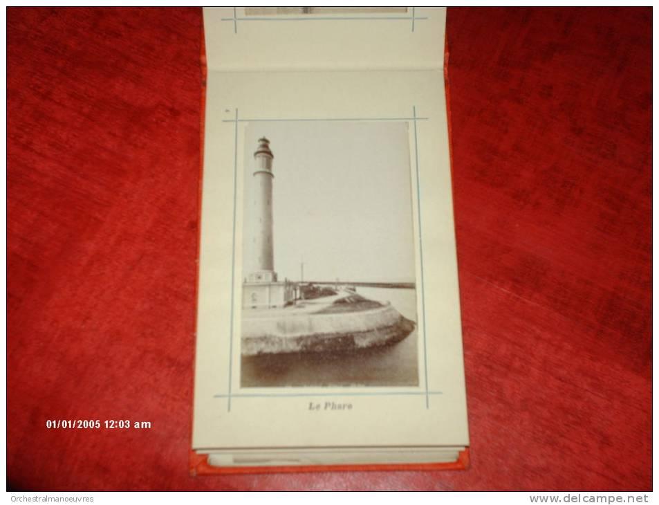 CARNET Format Cp 12 VUES 9x5cm PHOTO VERITABLE1900 OU AV + PLAN ( Not Cpa Cpsm Postcard) 59 DUNKERQUE NORD ANIME RARE - Dunkerque