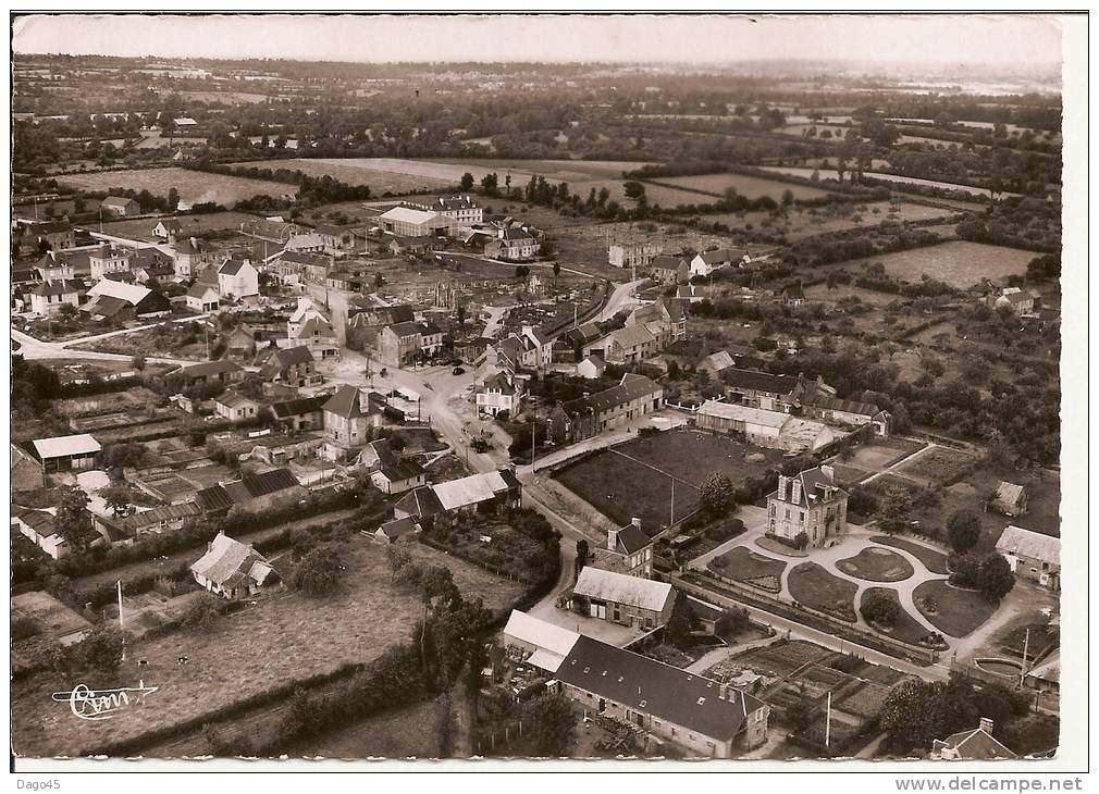 CAHAGNES (Calvados) - Vue Générale Aérienne - France
