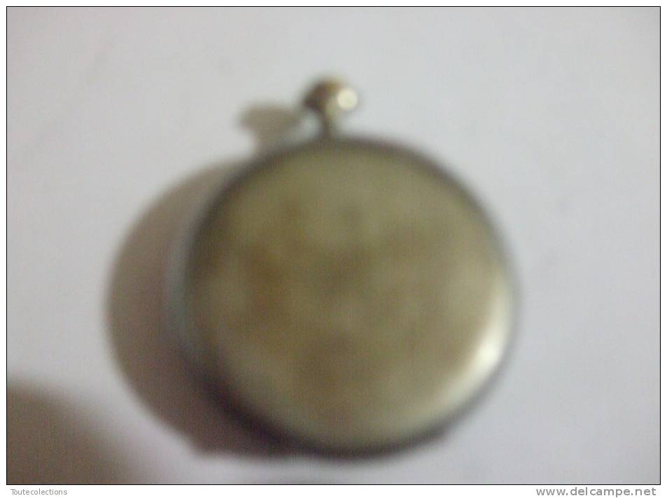 ANCIENNE MONTRE . GOUSSET. Strato . METAL CHROME  A RESTAURER .24 - Watches: Bracket