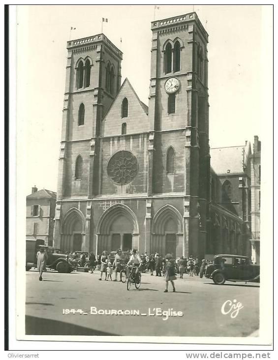 Bourgoin L'église - Bourgoin