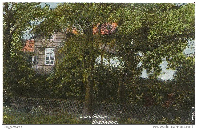 London - Swiss Cottage, Bushwood, Leytonstone  7217 - London Suburbs