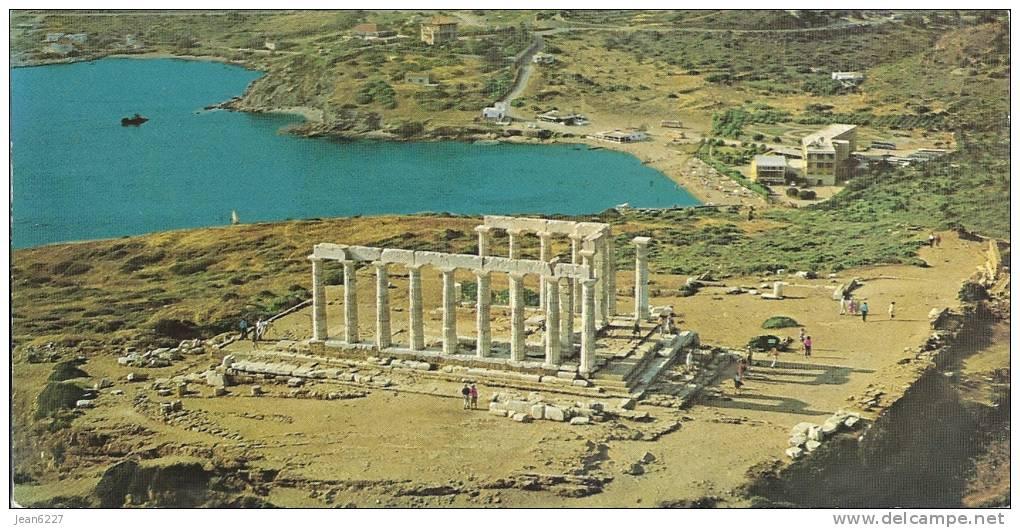 Grèce - Sounion - Le Temple De Poseidon à Vol D´oiseau - Greece