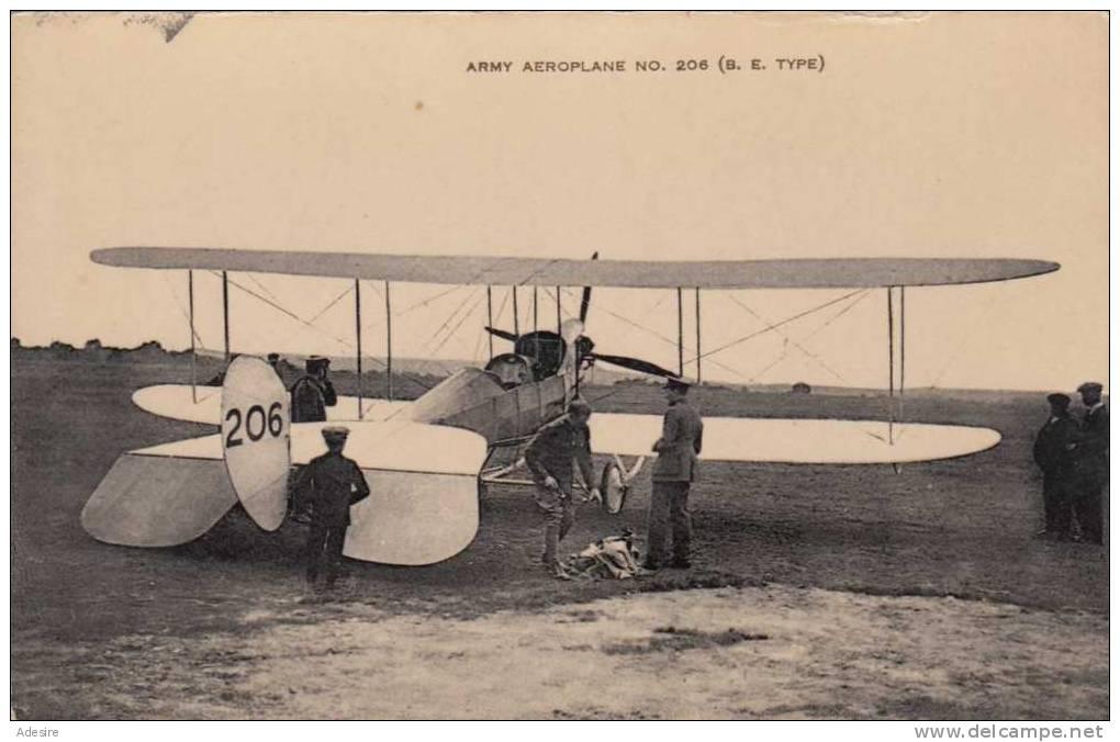 Army Aeroplane No 206 Type B.E., Doppeldecker - Equipment