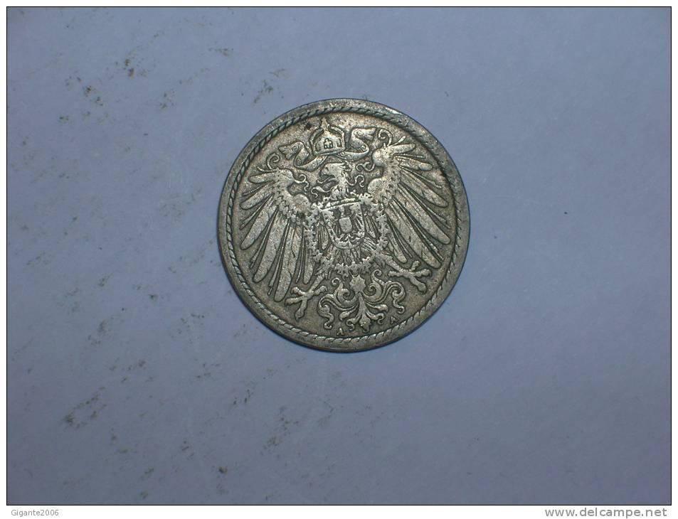 5 Pfennig 1901 A (267) - [ 2] 1871-1918 : Imperio Alemán