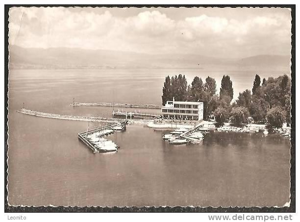 ESTAVAYER-le-LAC Et Son Port Vue Aerienne Flugaufnahme Ca. 1960 - FR Freiburg