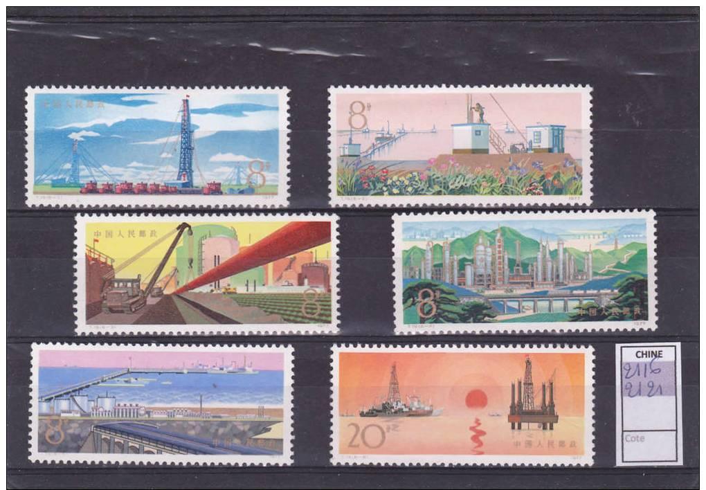 2116-2121 -  Développement De L'industrie Du Pétrole - Nuovi