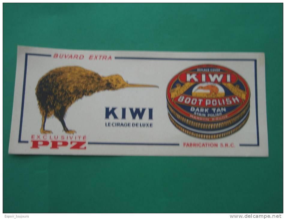Buvard  . KIWI Le Cirage De Luxe. Exclusivité PPZ - Buvards, Protège-cahiers Illustrés
