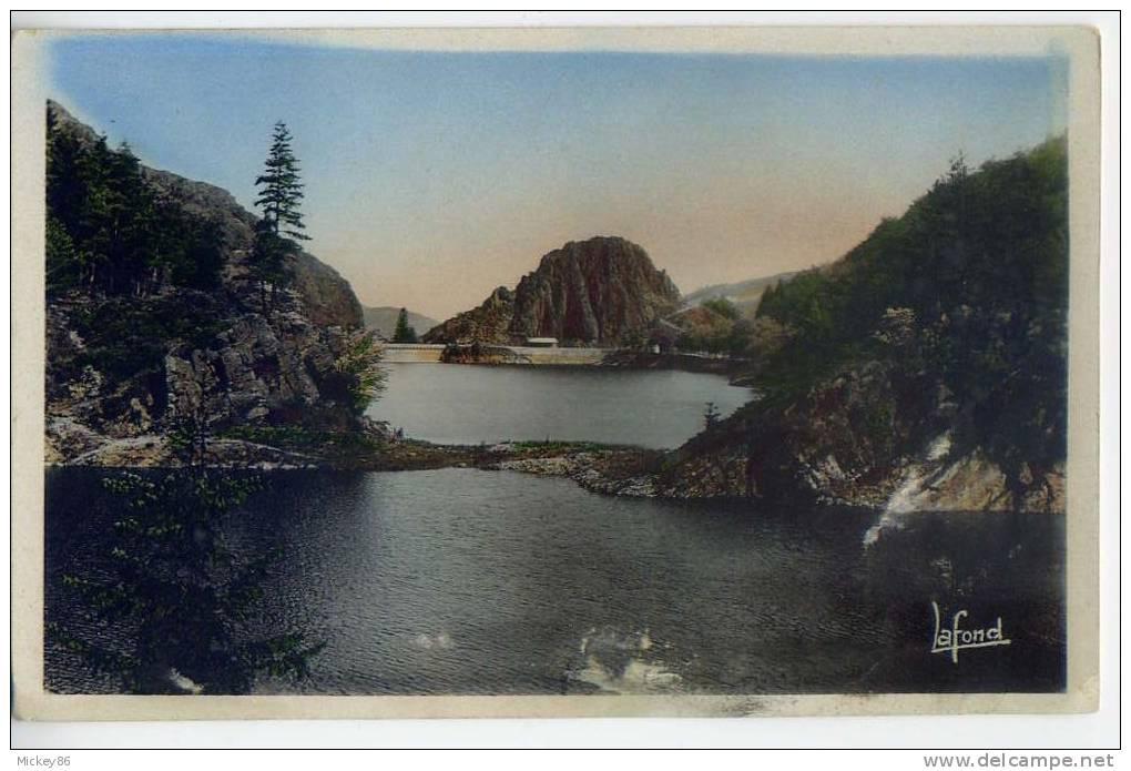 ROCHETAILLEE--Barrage Du Gouffre D'Enfer  Cpsm Pt Format N° 34 éd Lafond--carte Colorisée - Rochetaillee