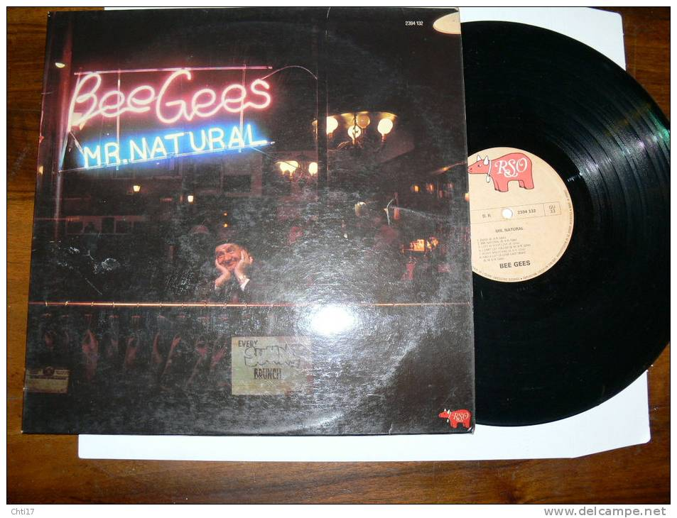 "BEE GEES  ""  MR NATURAL ""  EDIT POLYDOR EN 1975 - Disco, Pop"