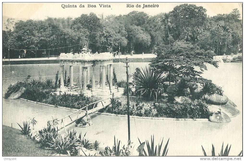 BRESIL RIO DE JANEIRO QUINTA DA BOA VISTA - Boa Vista