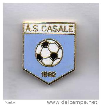 Pq1 A.S. Casale Calcio Pins Soccer Football Casal Di Principe Caserta Campania Italy Bd Pin Distintivi - Calcio