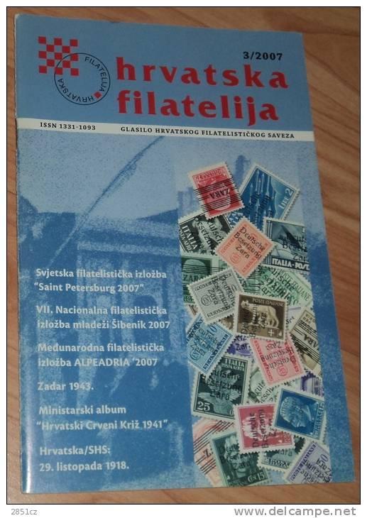 CROATIAN PHILATELY, 3/2007., Croatia - Altre Lingue