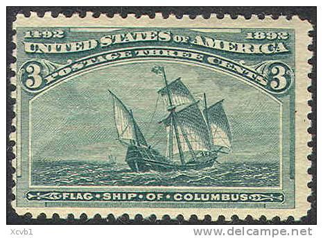# United States 232, Mint, Og, Dg,  (us232-6,10de - Unused Stamps
