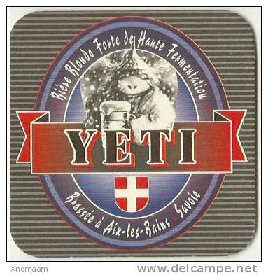 Yeti - Beer Mats