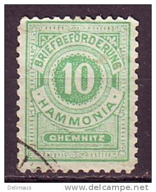 Deutsche Privatpost Chemnitz A HAMMONIA Mi.-Nr. 31 - Private