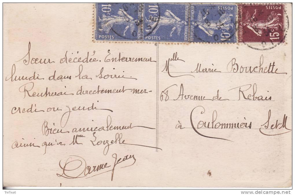 LIANCOURT- 1934 -Entrée Du Bois De La Garenne - Commerce-Animation - - Liancourt