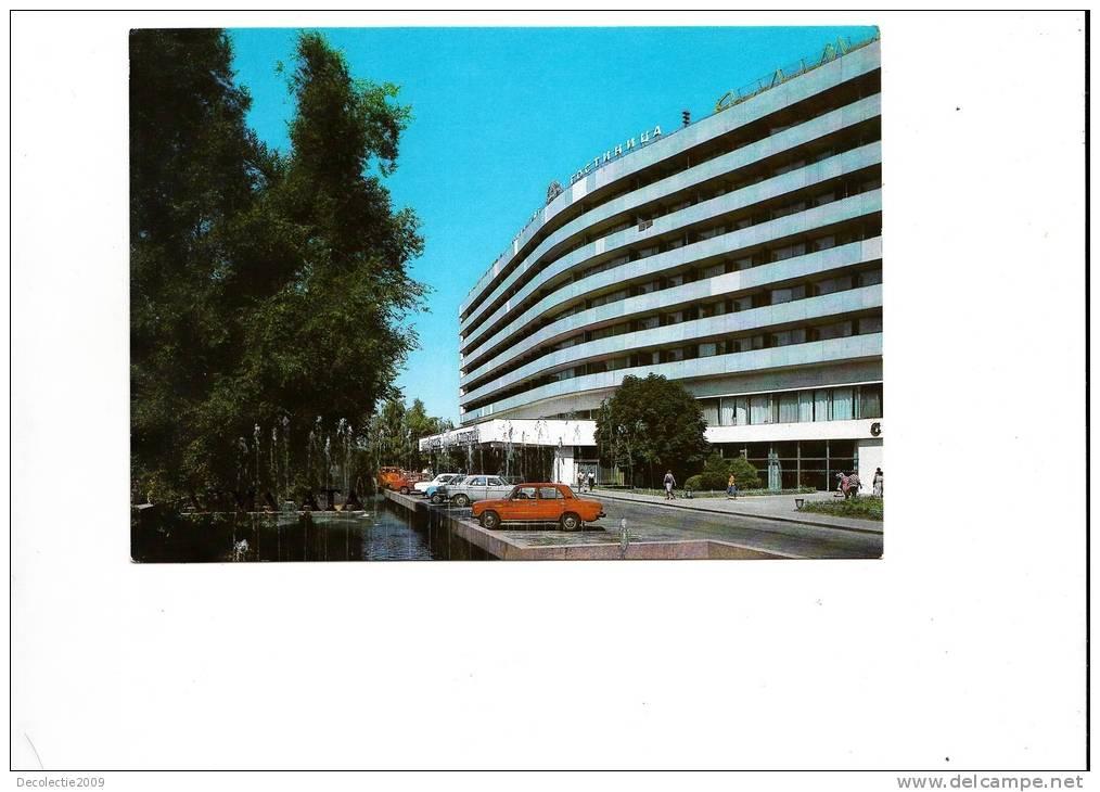 ZS17284 Hotel Alma Ata Car Voiture Not Used Good Shape - Kazakhstan