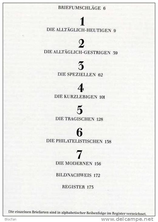 Brief-Gesichter 1985 Horst Hille Neu 20€ Streifzug Durch Die Philatelie Der Briefpost Stempel Zierbrief Book Of Germany - Bibliographies, Index