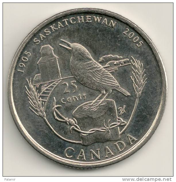 Canada 2005 KM#532 -  25 Cent - Canada