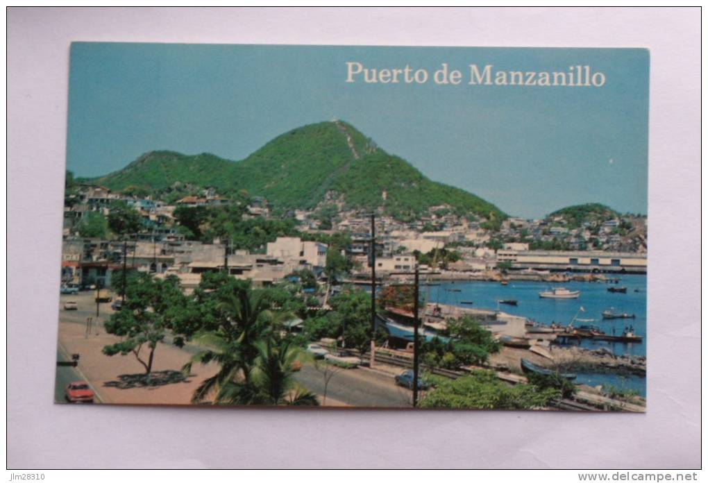 Puerto De Manzanillo - Av. Ninos Héroes - Format 86x138 - Messico