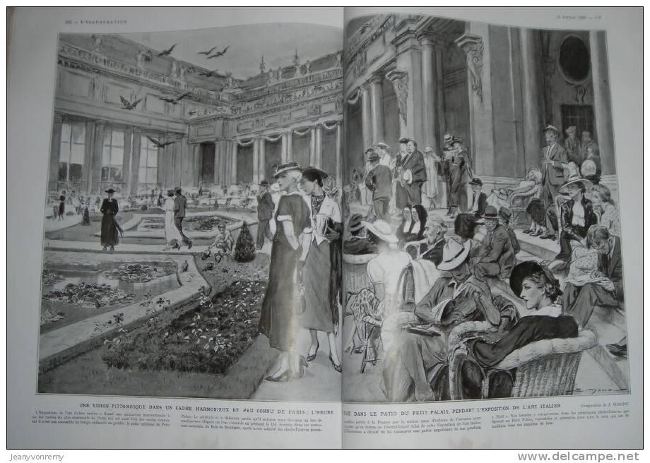 L´Illustration N°4819 - 13 Juillet 1935.  Le Salut Des Souverains Belges à La Ville De Liège. - Journaux - Quotidiens