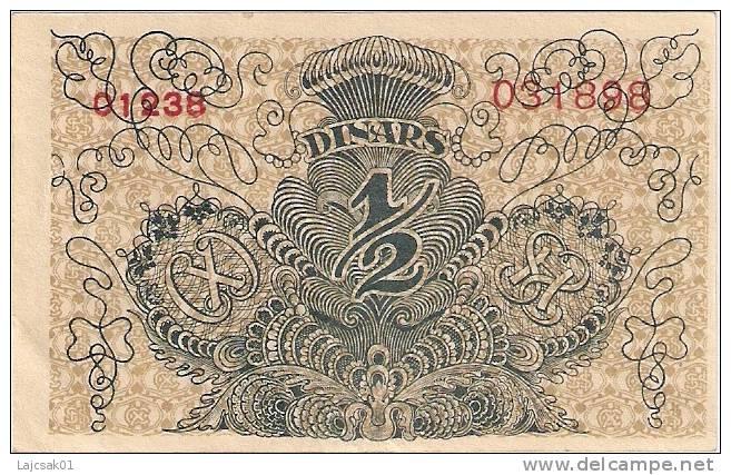 Yugoslavia Kingdom SHS  1/2 Dinara Dinars   1919. P-11a  AUNC - Yougoslavie