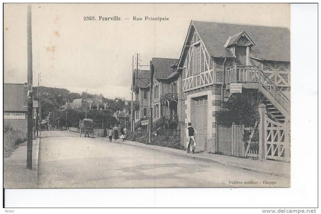 POURVILLE - Rue Principale - France